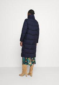 Marc O'Polo DENIM - LONG PUFFER COAT - Winter jacket - scandinavian blue - 2