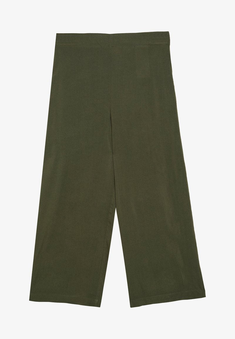 Vero Moda - VMSIMPLY EASY CULOTTE PANT - Trousers - ivy green
