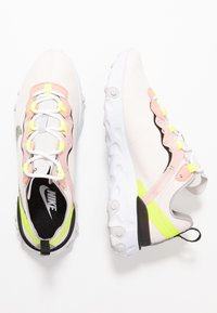 Nike Sportswear - REACT ELEMENT 55 PRM - Trainers - light soft pink/atmosphere grey/black/volt/vast grey - 3