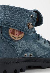 Palladium - BAGGY - Bottines à lacets - orion blue - 6