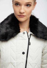 usha - Winter jacket - wool white - 3