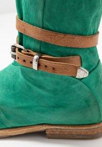 A.S.98 - Laarzen - emerald/natur - 2