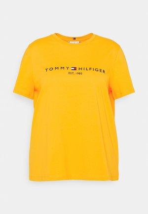 TEE  - T-shirt print - amber ochre