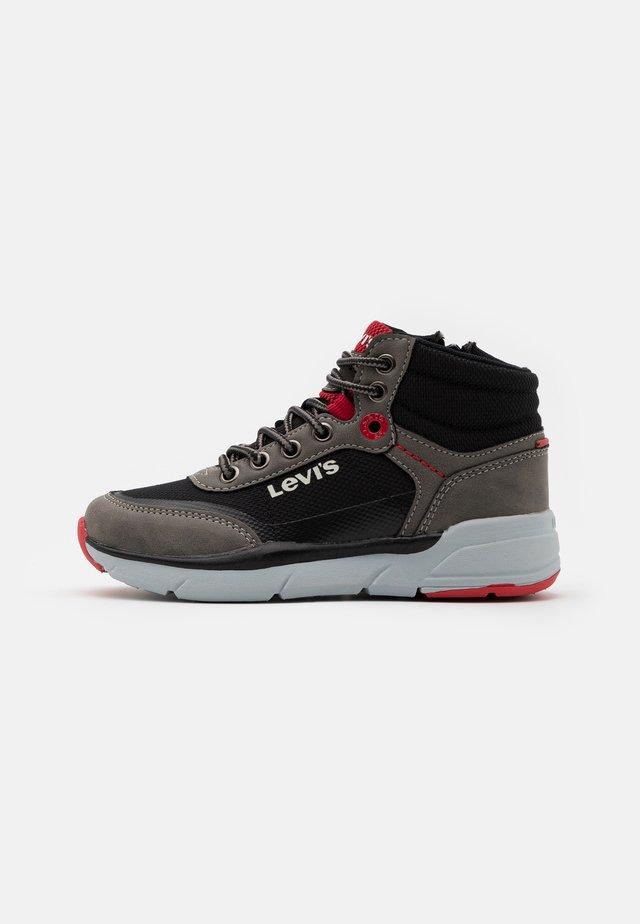 PARRY MID - Baskets montantes - grey/black