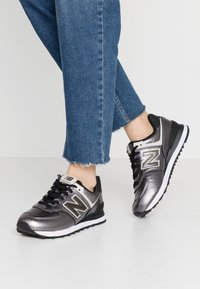 New Balance - WL574 - Sneakers basse - black - 0