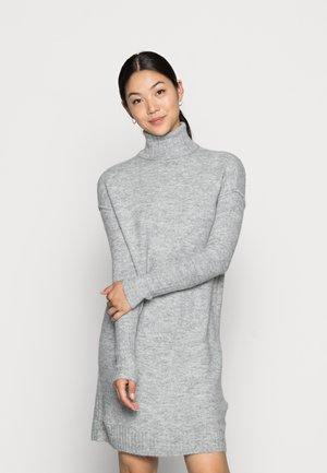 VMLUCI  - Strikket kjole - light grey melange