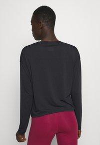 Reebok - SUPREMIUM LONG SLEEVE - Camiseta de deporte - night black - 2