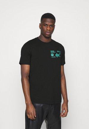 T-JUST-A39 MAGLIETTA UNISEX - Camiseta estampada - black