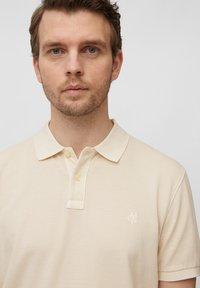 Marc O'Polo - Polo shirt - linen white - 4