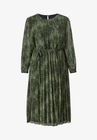 Sara Lindholm by HAPPYsize - Day dress - grün,schwarz - 2