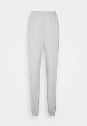 BASIC JOGGERS - Tracksuit bottoms - grey marl
