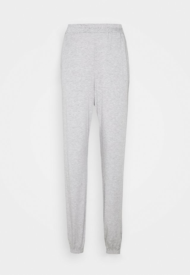 TALL BASIC JOGGERS - Tracksuit bottoms - grey marl
