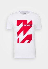 Lacoste Sport - SPORT TEE HOMME - Triko spotiskem - white - 3
