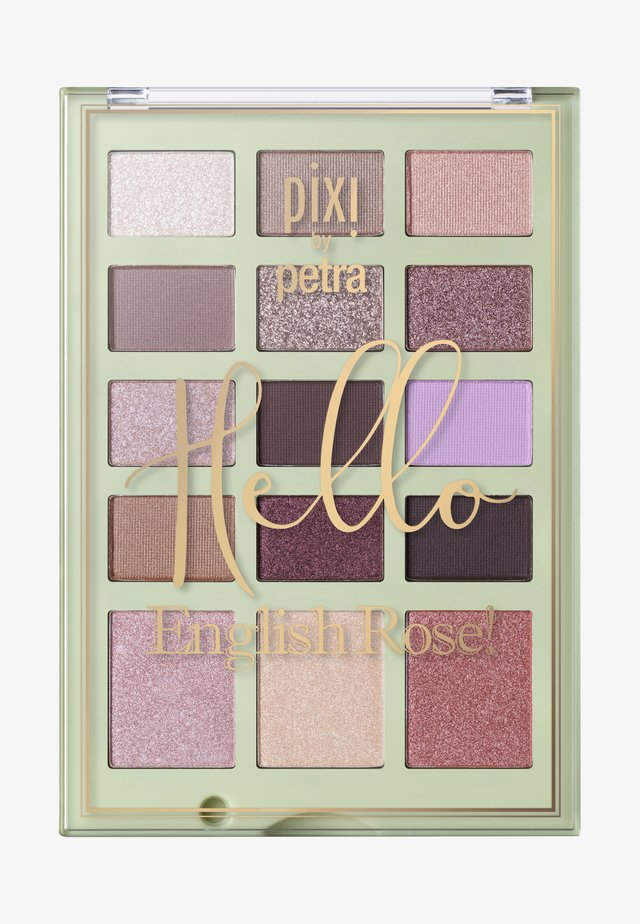 HELLO BEAUTIFUL FACE CASE 16.05G - Øjenskyggepalette - hello english rose