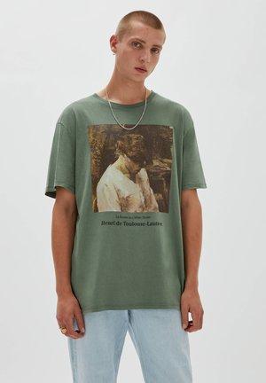 HENRI DE TOULOUSE-LAUTREC - Print T-shirt - green