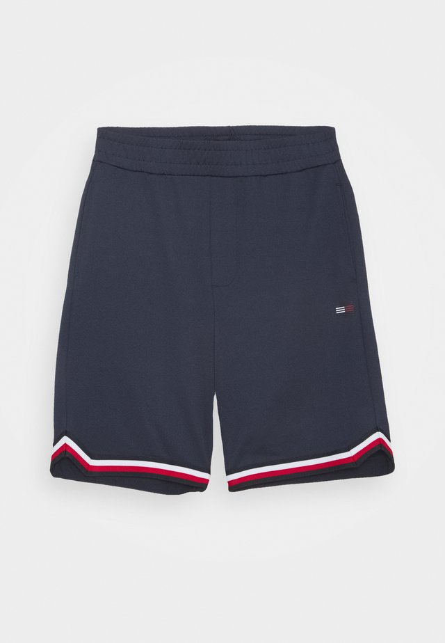 SPORTS COLORBLOCK - Sports shorts - blue