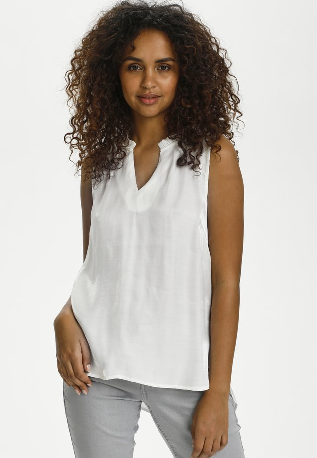 CRCECILIE - Blusa - snow white