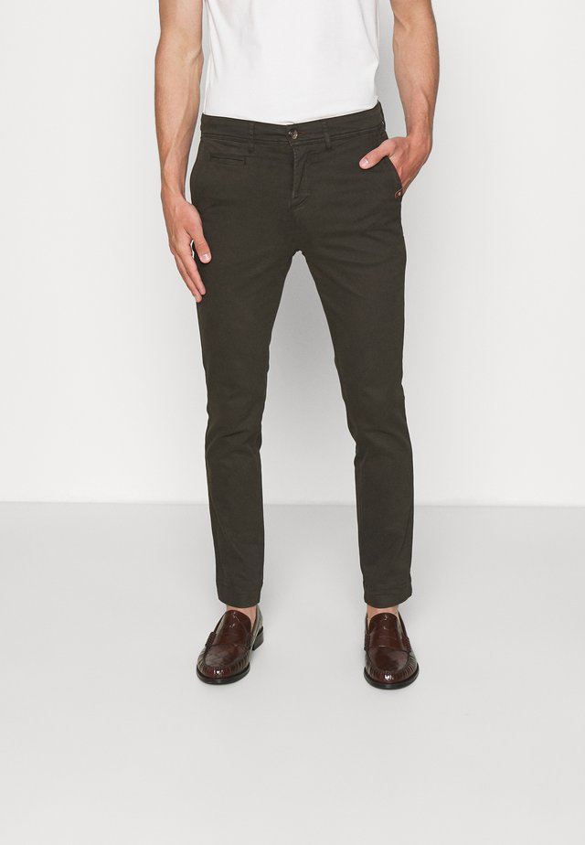 TOUCH DILAN - Trousers - olive/khaki