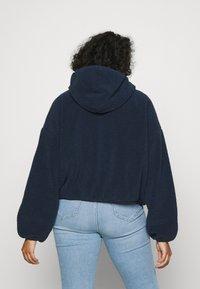 Tommy Jeans Curve - HOODED JACKET - Summer jacket - twilight navy - 2