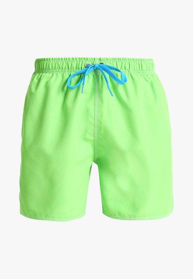 FUNDAMENTALS SOLID - Swimming shorts - leaf/turquoise