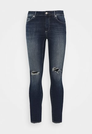 CARWILLY - Jeans Skinny Fit - dark blue denim