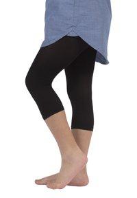 Calzitaly - 2 PACK  - Leggings - Trousers - black - 2