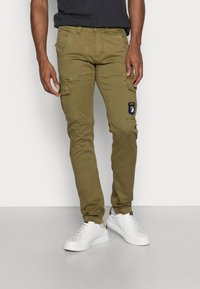 Alpha Industries - PETROL PATCH - Cargo trousers - oliv - 0