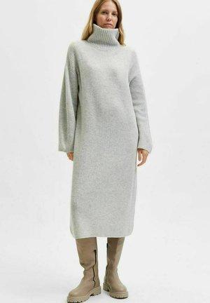 ROLLKRAGEN - Jumper dress - light grey melange