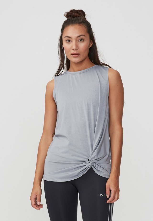 Top - grey melange