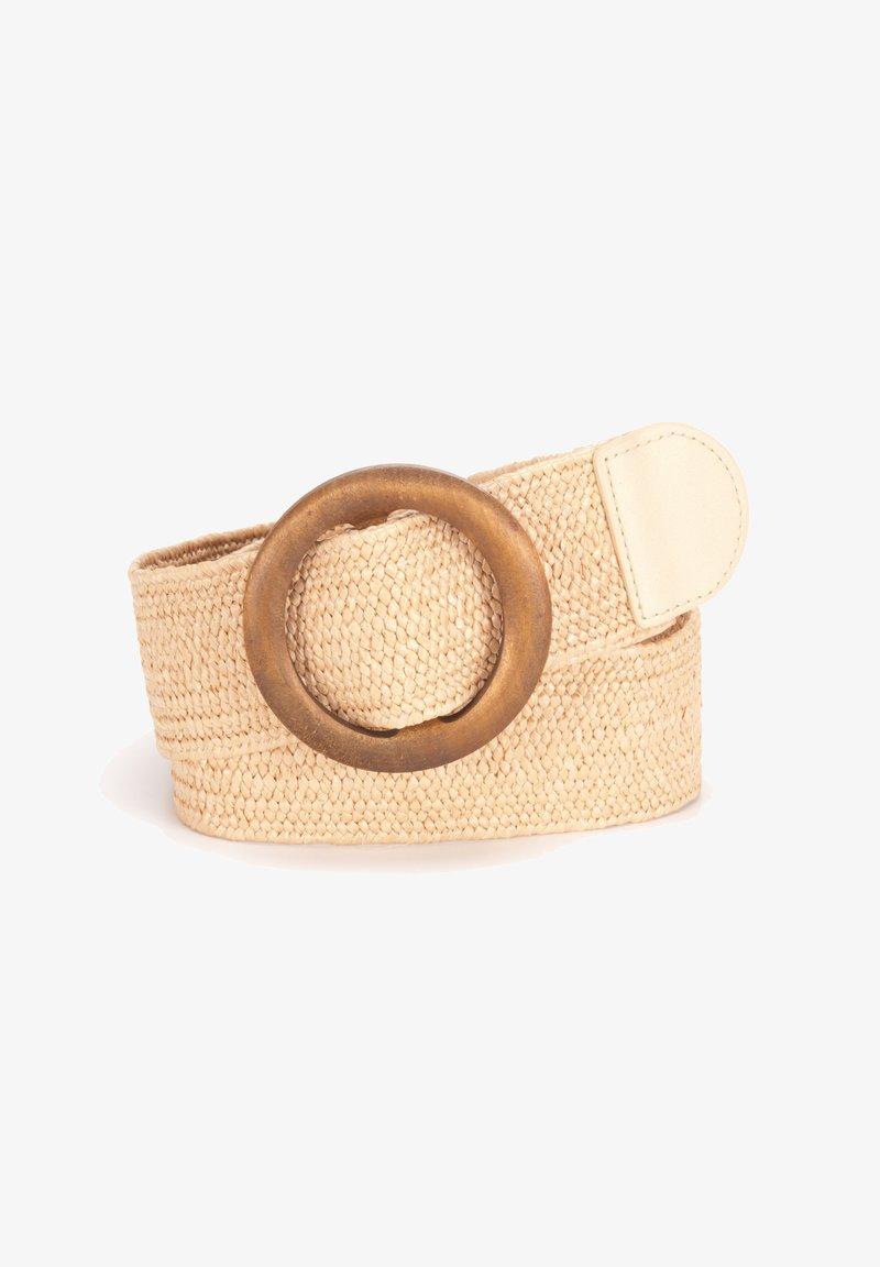 Tamaris - Braided belt - beige