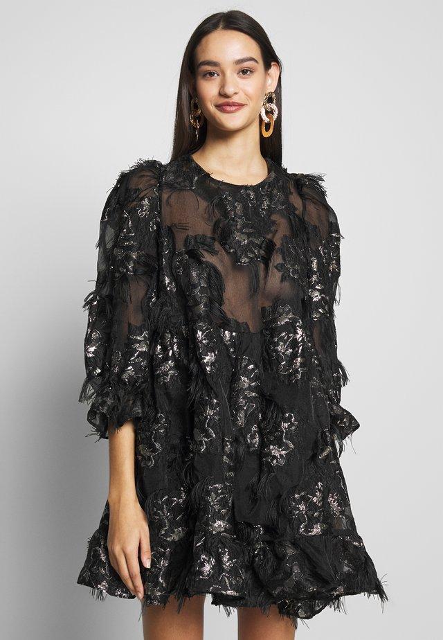 HIGH BORN MINI DRESS - Robe de soirée - black