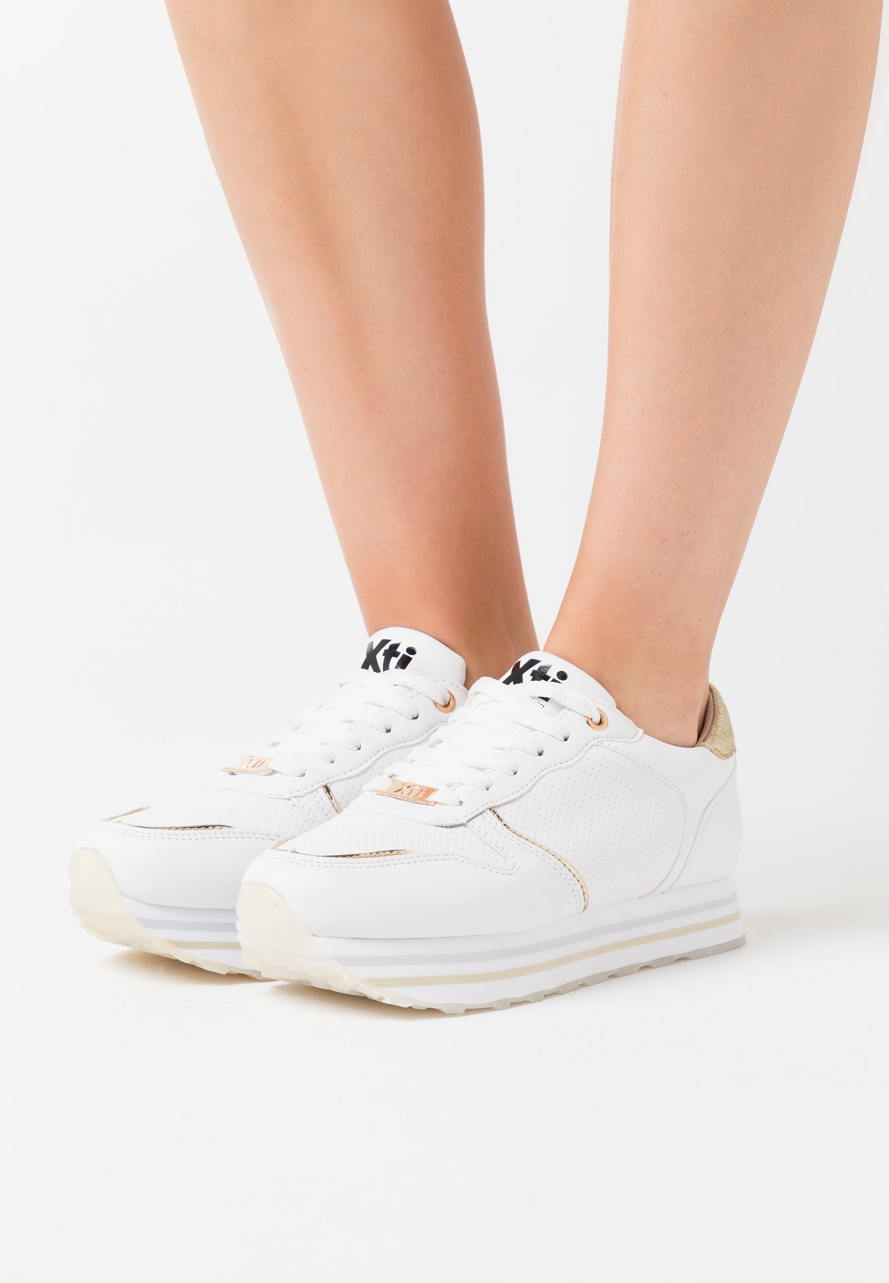 XTI Trainers - gold Women's Skate Shoes eGrRs
