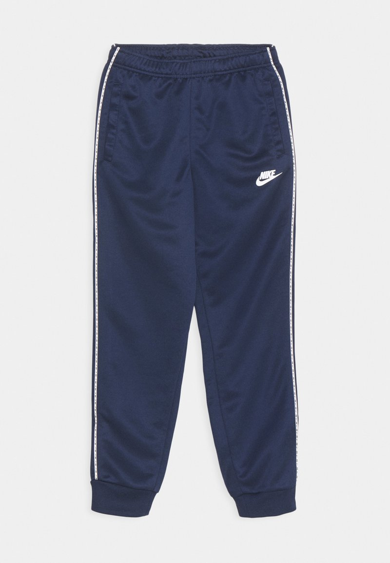 Nike Sportswear - REPEAT - Træningsbukser - midnight navy/white