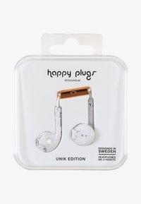 Happy Plugs - UNIK EARBUD PLUS - Headphones - white marble - 0