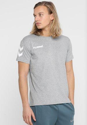 T-shirts med print - grey melange