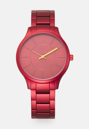 LESS UNISEX - Watch - red