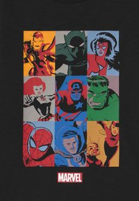 GAP - BOY MARVEL - Langarmshirt - true black - 2