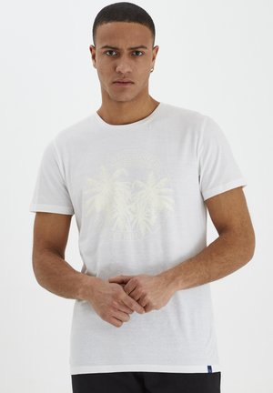 DAVIS - T-shirt con stampa - bright white