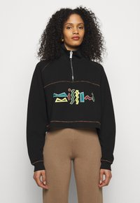 M Missoni - FELPA - Sweatshirt - black - 0