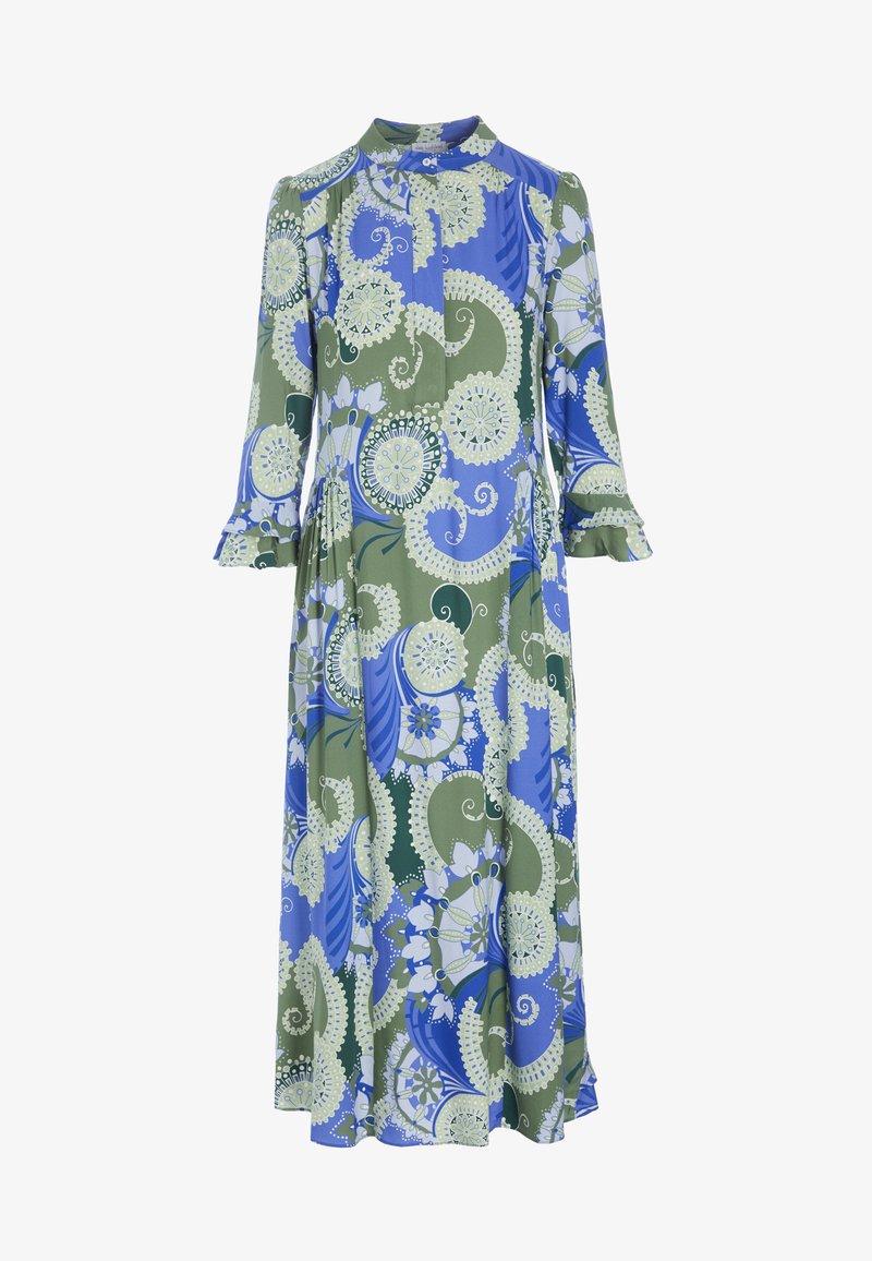 Dea Kudibal - ROSANNA  - Day dress - khanga green