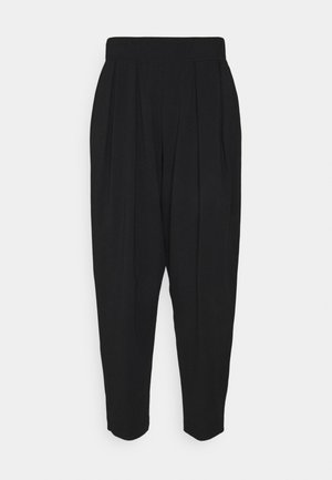 PIERA - Tracksuit bottoms - schwarz