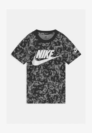 LABEL CONFETTI - Print T-shirt - black