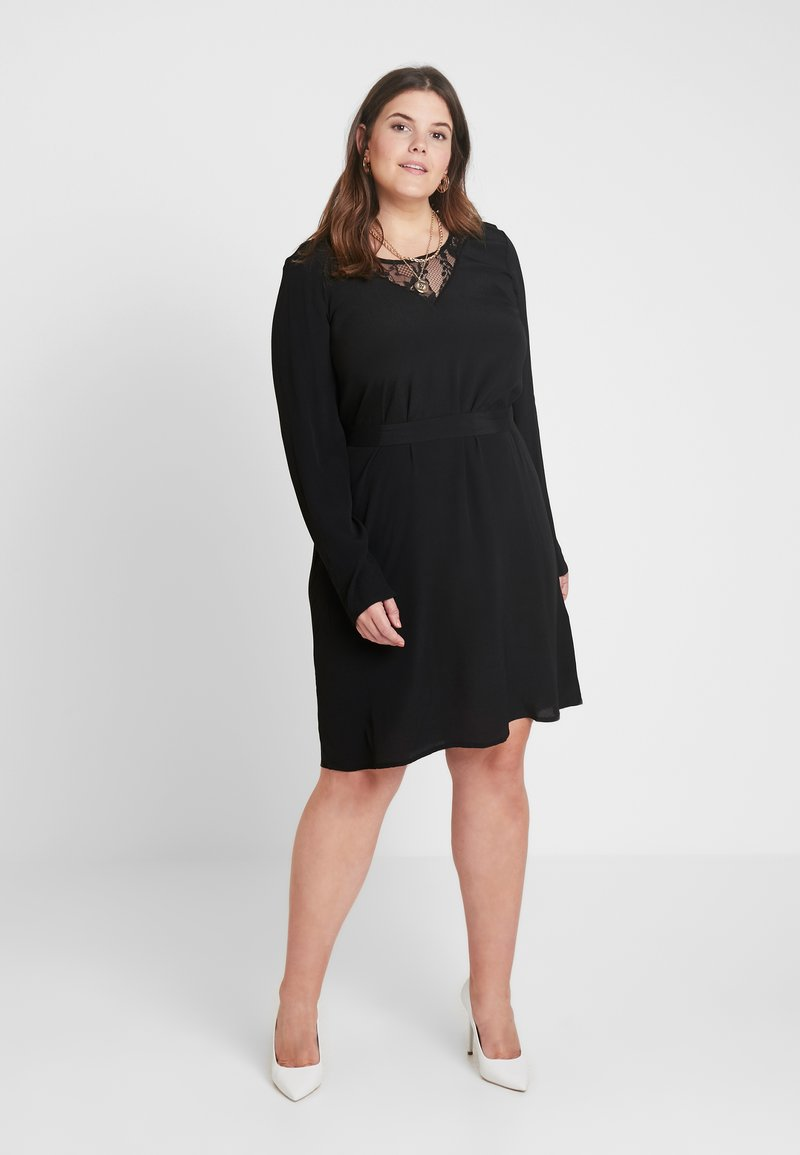 Zizzi - XGRENADINE DRESS - Robe d'été - black