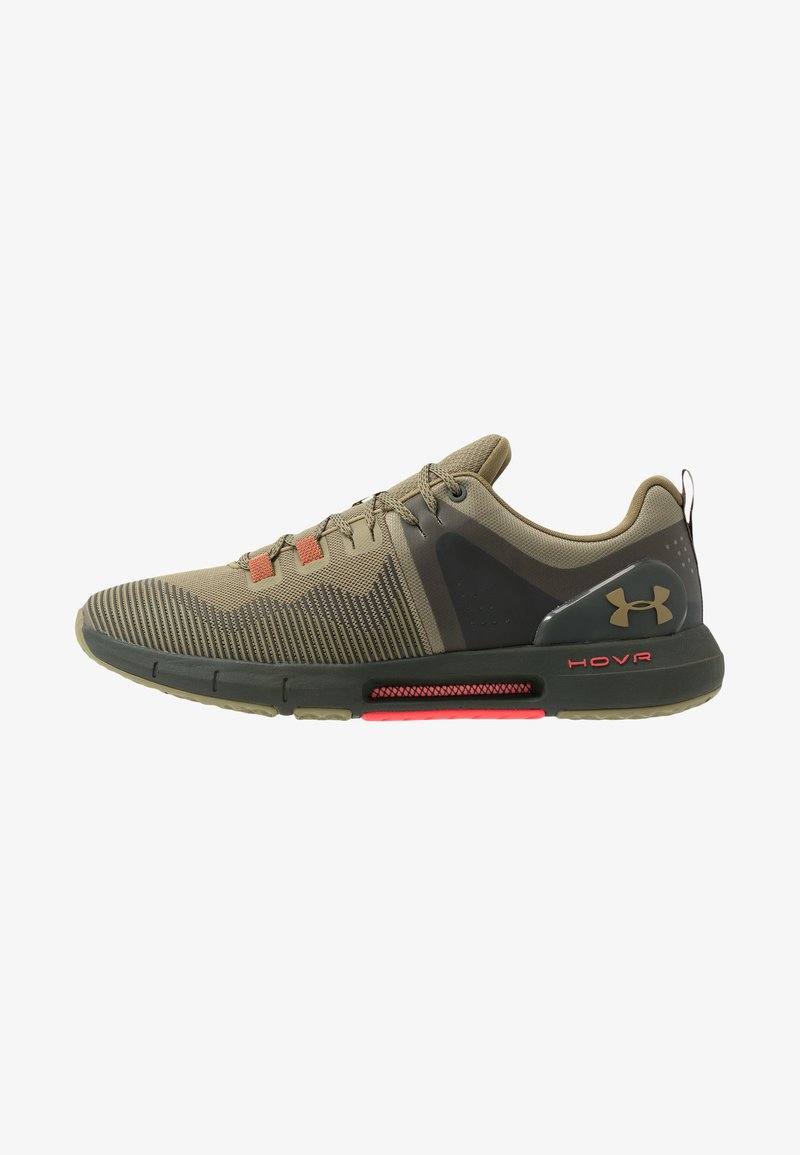 Under Armour - HOVR RISE - Obuwie treningowe - outpost green/baroque green