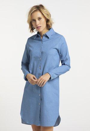 Shirt dress - helldenim