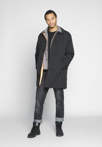 Weekday - MARTY REVERSIBLE JACKET - Short coat - black - 1