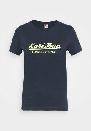 MØLSTER TEE - T-shirt z nadrukiem - dark blue