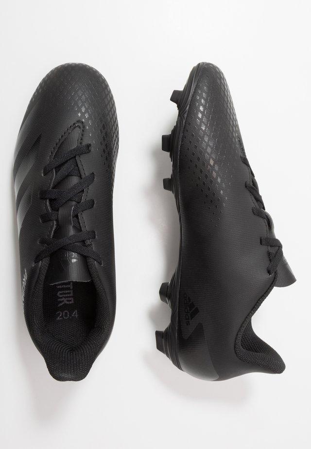 PREDATOR 20.4 FXG - Voetbalschoenen met kunststof noppen - core black/dough solid grey