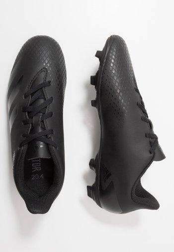 PREDATOR - Moulded stud football boots - core black/dough solid grey