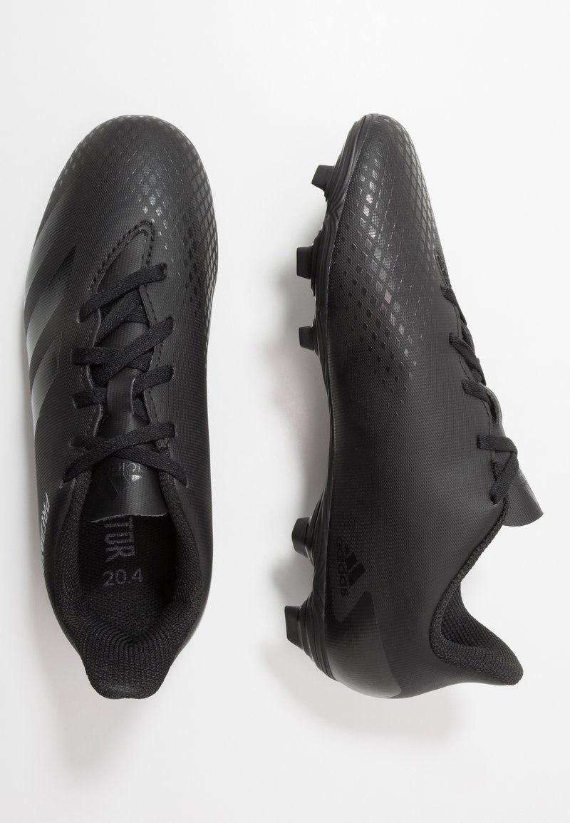 adidas Performance - PREDATOR - Moulded stud football boots - core black/dough solid grey
